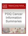 PDQ Cancer Info cover